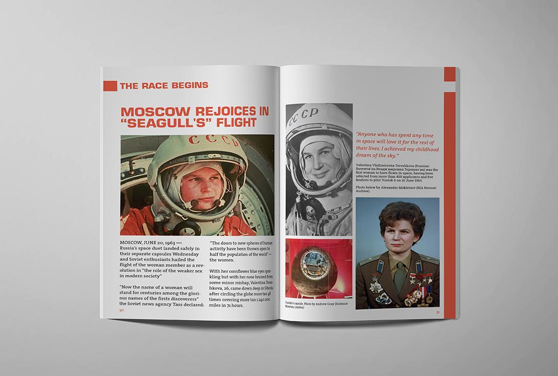 Fly me to the Moon, from Sputnik to Apollo - Valentina Tereshkova